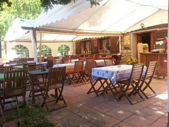 Le Relais de la Cayolle : restaurant..