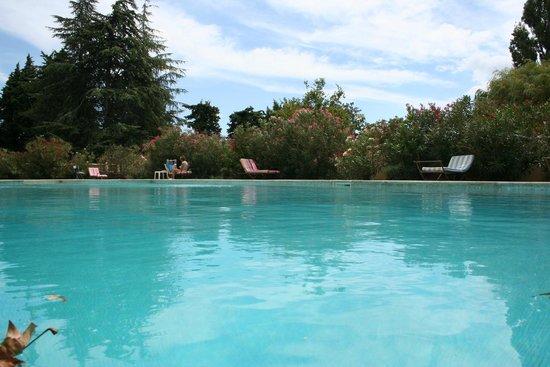 château le Martinet : piscine