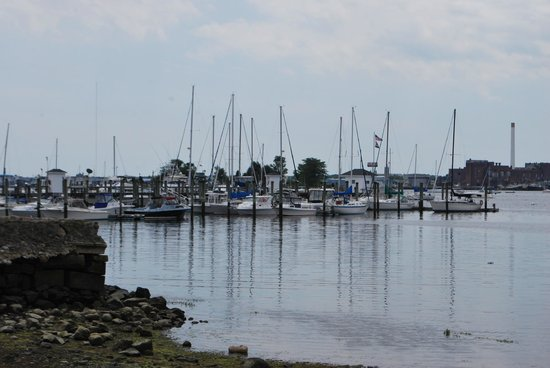 Seaport Inn and Marina: View of the marina.