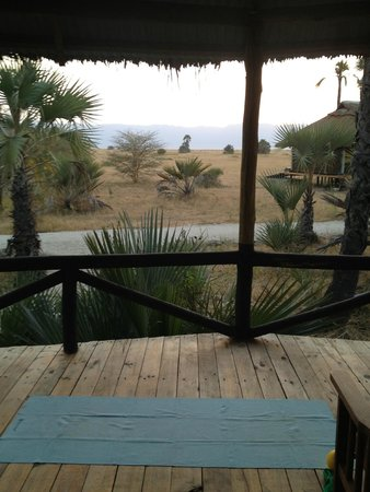 Maramboi Tented Camp : view from deck