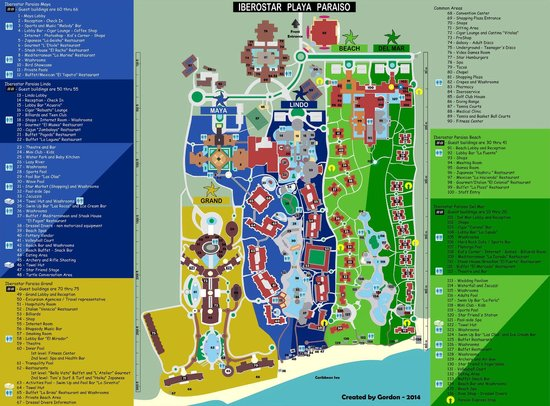 Iberostar Paraiso Beach : Mapa