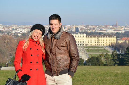 Schloss Schönbrunn: View from the hill, totally worth the hike!