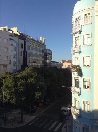 Real Parque Hotel : View from room 305