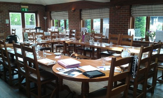 The White Hart Inn: Meeting Room Set up