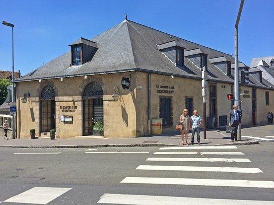 Le Grenier a Sel : la façade