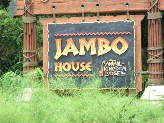Disney's Animal Kingdom Lodge : Entrance