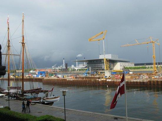 Copenhagen Admiral Hotel: From water view room