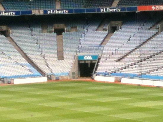 Croke Park Stadium Tour & GAA Museum: Inside arena