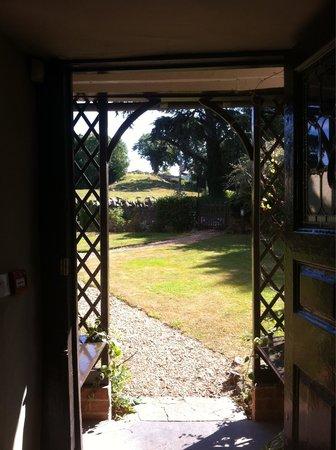 Cross Lane House: Front door.