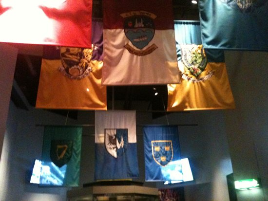 Croke Park Stadium Tour & GAA Museum: County flags 1