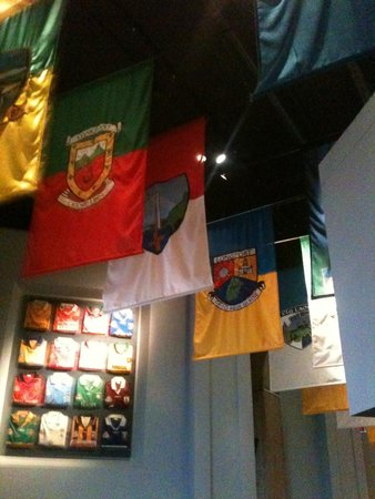 Croke Park Stadium Tour & GAA Museum: County flags 2