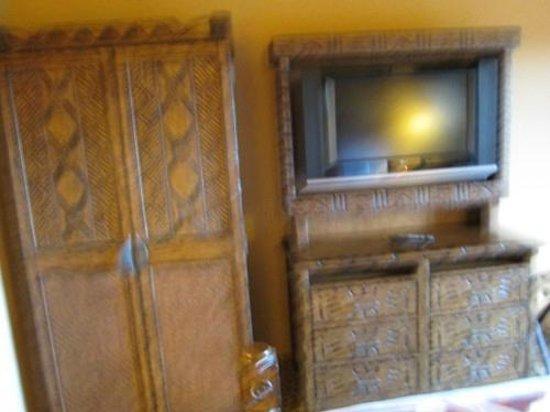 Disney's Animal Kingdom Lodge : Bedroom TV room