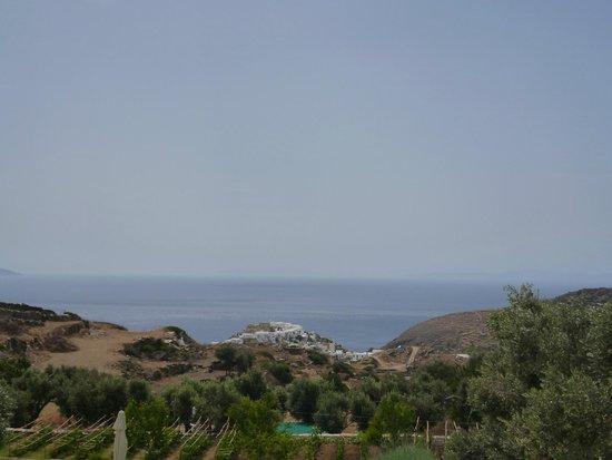 Kamaroti Suites Hotel: Θέα από δωματιο