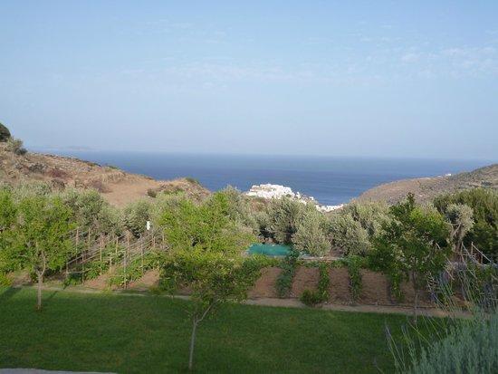 Kamaroti Suites Hotel : Θέα από δωματιο
