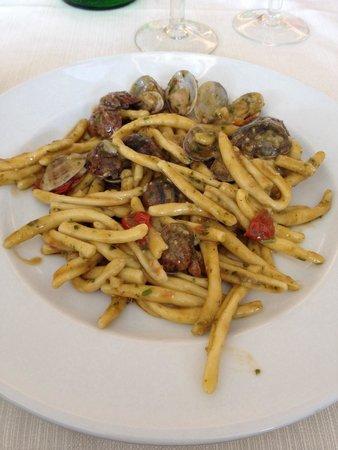 Park Hotel Kursaal: Pesto e vongole