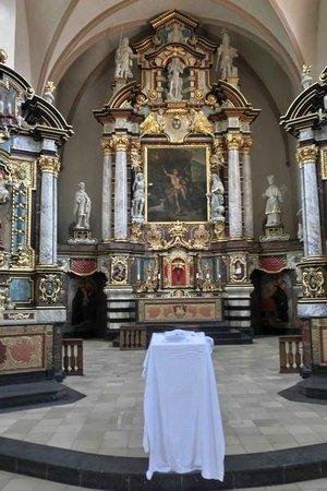 Centre Culturel de Rencontre Abbaye de Neumûnster : Altar