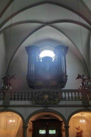 Centre Culturel de Rencontre Abbaye de Neumunster: Orgel