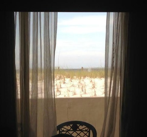 Hampton Inn Ft. Walton Beach: View of dune from Room 148.