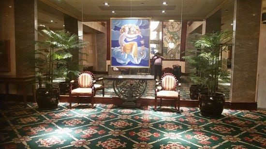 Wellington Hotel: Parte del lobby del Hotel