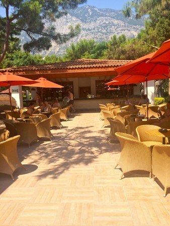 Akka Antedon Hotel: the beach bar