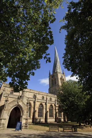 ‪‪Chesterfield‬, UK: Crooked Spire Chesterfield‬