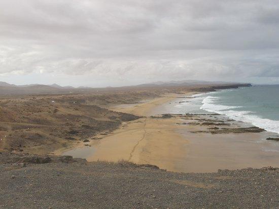 Lagunas y Playa de El Cotillo: la playa de la mujer, da qui le donne aspettavano i mariti pescatori...