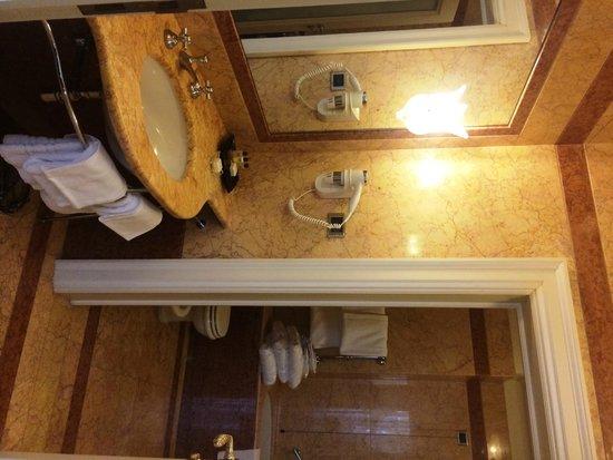 Eurostars Hotel Excelsior : Bathroom