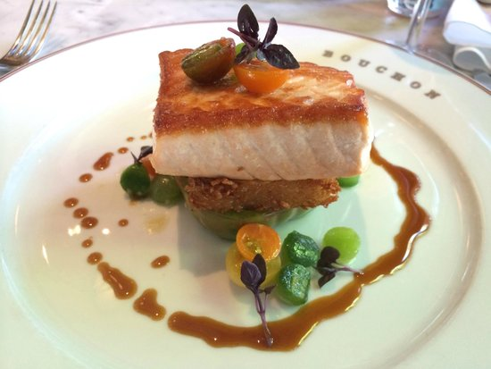 Bouchon Bakery: Salmon (Dinner Special)