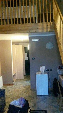 Hotel Ristorante La Perla: Cameranel residence  con soppalco