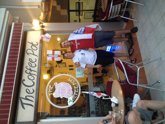 World Cup at the Coffee Pot.