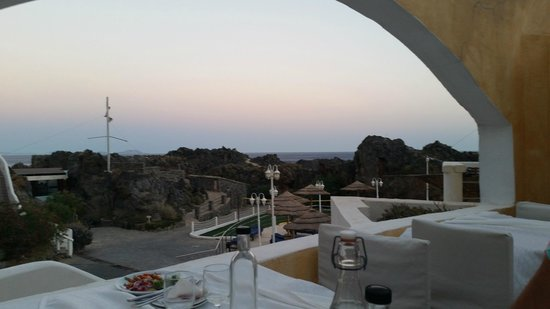 Kalypso Cretan Village : view from restaurant