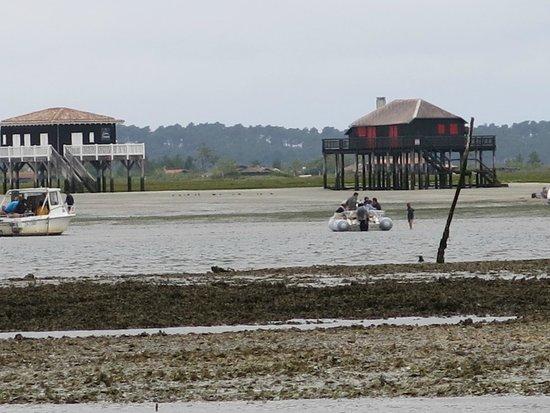Union des Bateliers Arcachonnais : Maisons des pêcheurs