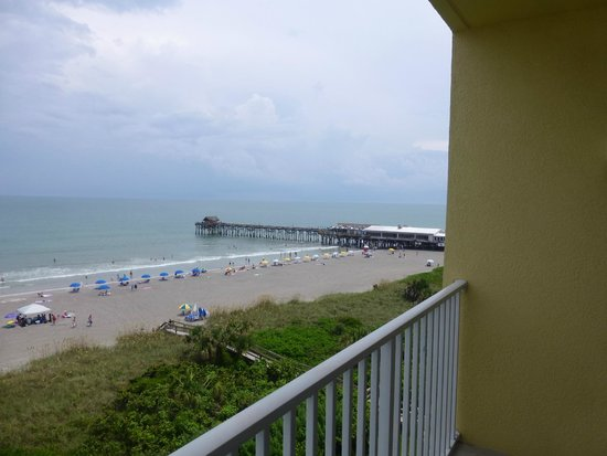 BEST WESTERN Cocoa Beach Hotel & Suites: room 801 balcony