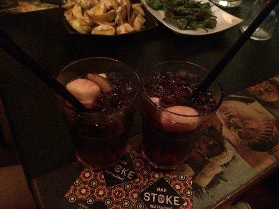 Stoke bar: sangria e tapas