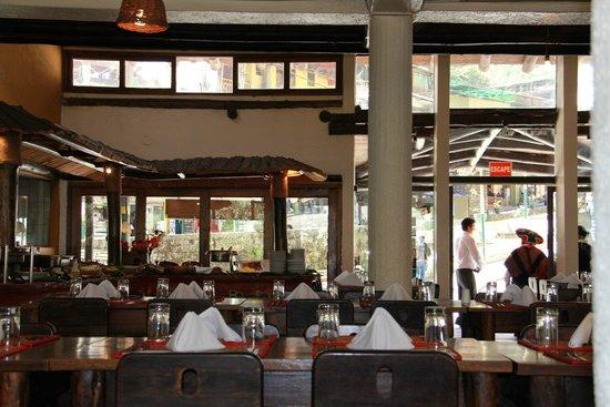 Hatun Samay: Inside the restaurant