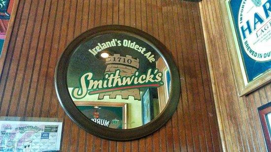 Meg O'Malley's Restaurant & Irish Pub: The paraphernalia is everywhere!