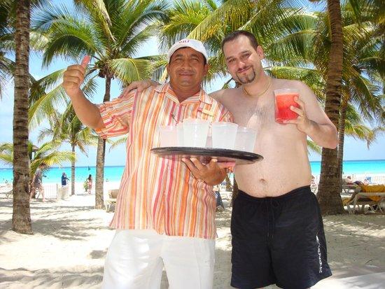 Hotel Riu Palace Riviera Maya: en la playa