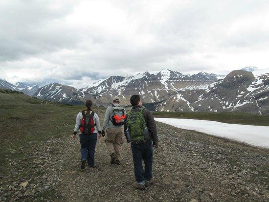 Parker Ridge Trail : Enjoying the Hike