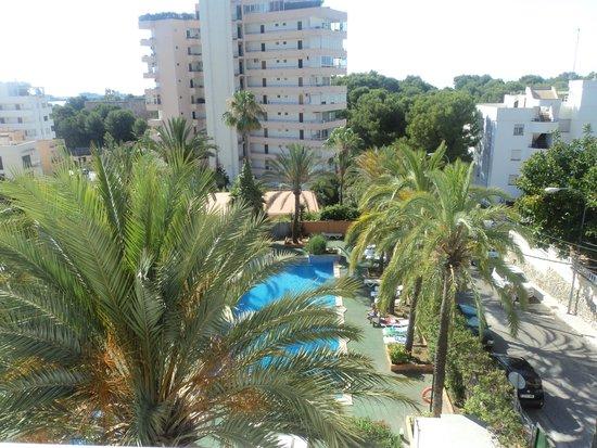 Hotel Mirablau: View from my balcony