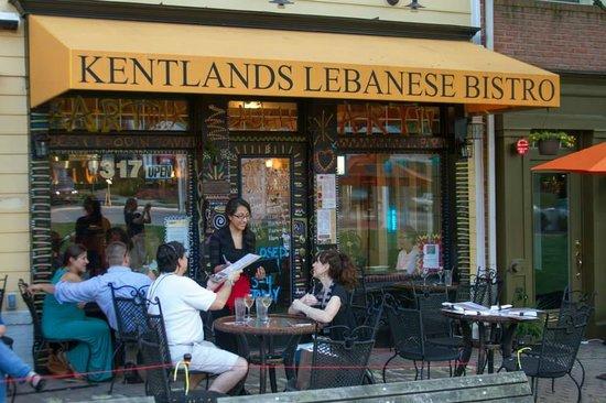 Outdoor Patio Dining Picture Of Kentlands Lebanese Bistro Arts
