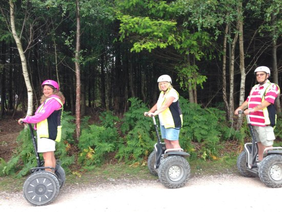 Go-Segway: Fun in the Forest