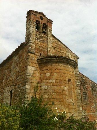abside della Chiesa di Sant'Andrea a Luiano