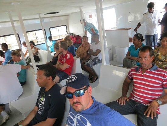 Aqua Mania Adventures: the ferry
