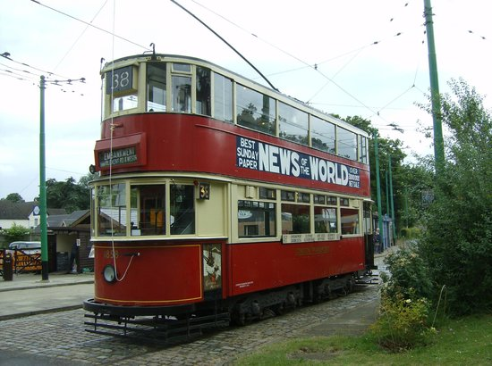East Anglia Transport Museum: One of the vintage trams, well worth a ride