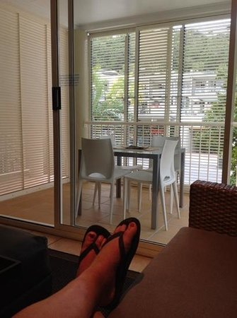 Port Douglas Apartments : looking out to the balcony