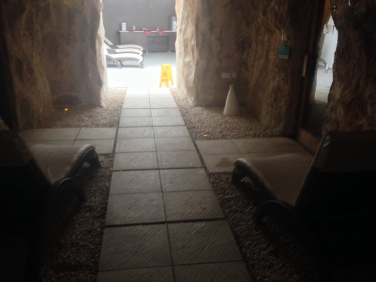 db Seabank Resort + Spa: Ingresso nella sauna
