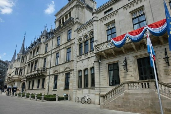 Palace of the Grand Dukes (Palais Grand-Ducal) : Aussenansicht