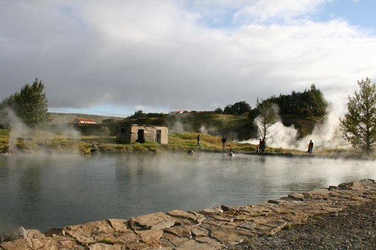 Fludir, Islande : The Secret Lagoon