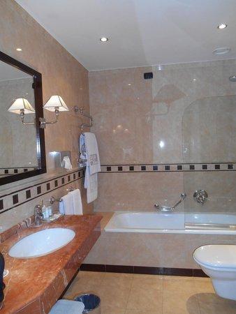 Hotel San Gallo Palace: Notre salle de bain (chambre 85)
