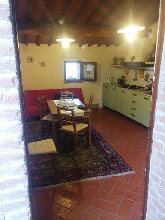 Borgo Lecchi B&B : Living room/Kitchen